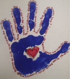 Hands Are For Holding Not For Hurting Child Abuse
