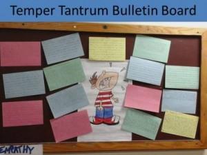 Temper.Tantrum.Bulletin.Board
